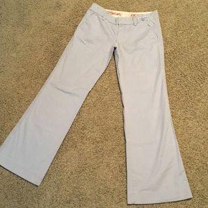 American blue straight wide leg pants